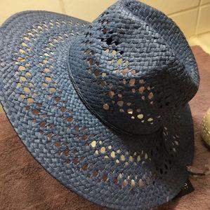 Jones New York Denim-Navy Sun Hat - NWT